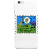 30 Years of Electricity iPhone Case/Skin