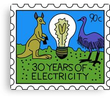 30 Years of Electricity Canvas Print
