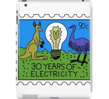30 Years of Electricity iPad Case/Skin