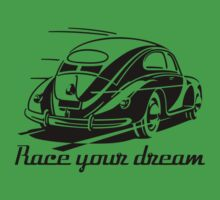 Beetle Car - Race your Dream Car One Piece - Short Sleeve