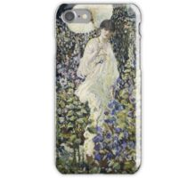 Frederick Carl Frieseke - Sun And Wind . Аmerican, Impressionism iPhone Case/Skin