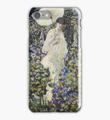 Frederick Carl Frieseke - Sun And Wind . Аmerican, Impressionism iPhone Case/Skin