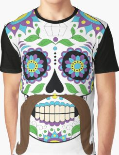Zombie / Zombies Flower Face Graphic T-Shirt