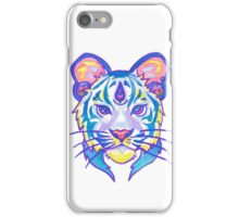 Clairvoyant Pastel Tiger iPhone Case/Skin