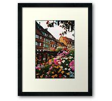 Little Venice, Colmar France Framed Print