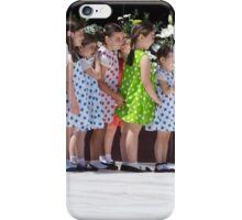 Girls in a Row iPhone Case/Skin