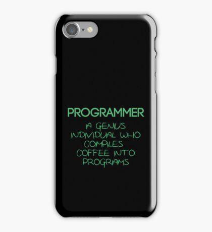 Programmer - genius iPhone Case/Skin