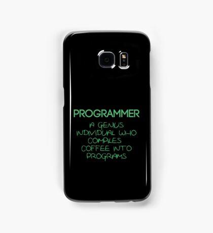 Programmer - genius Samsung Galaxy Case/Skin