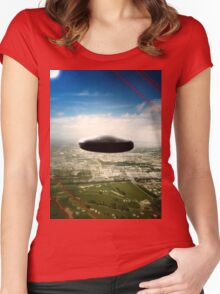 UFO Women's Fitted Scoop T-Shirt