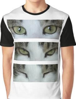 I can see you ~ Cat Graphic T-Shirt