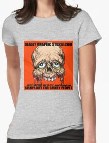 DEADLY GRAPHIC STUDIO EXPO Womens Fitted T-Shirt