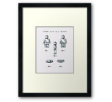 Lego Man Patent 1979 Page 1 Framed Print