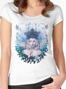 Self-Crowned Women's Fitted Scoop T-Shirt