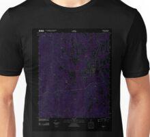 USGS TOPO Map Alabama AL Gordo 20110915 TM Inverted Unisex T-Shirt