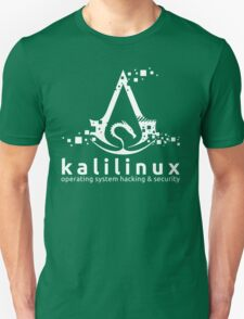 Kali Linux Operating System Hacking and Security Unisex T-Shirt