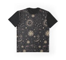 SUN MOON STARS Graphic T-Shirt