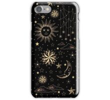 SUN MOON STARS iPhone Case/Skin