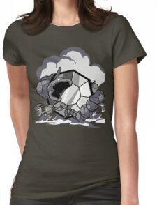 Gym Leader: Brock  Womens Fitted T-Shirt