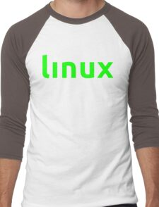 Linux Shirt - Linux T-Shirt Men's Baseball ¾ T-Shirt
