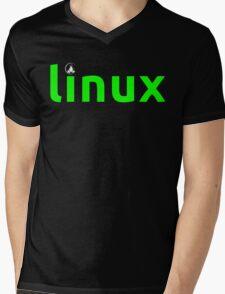 Linux Shirt - Linux T-Shirt Mens V-Neck T-Shirt