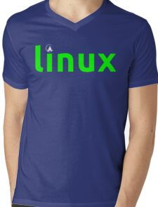 Linux Shirt - Linux T-Shirt Mens V-Neck T-Shirt