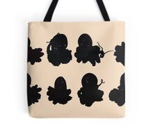 Black Octopus  Tote Bag