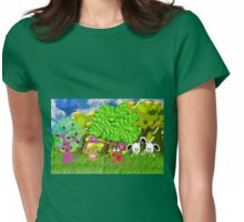 Aren't You Glad We Moved to the Countryside? Womens Fitted T-Shirt