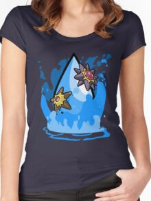 Gym Leader: Misty Women's Fitted Scoop T-Shirt