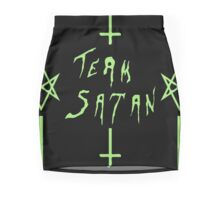 Team Satan (Green) Mini Skirt