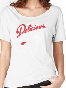 Delicious Vinyl Women's Relaxed Fit T-Shirt