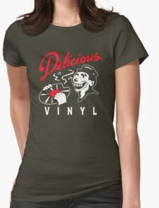 Delicious Vinyl Womens Fitted T-Shirt