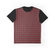 "The ""Maniacal"" Tartan Graphic T-Shirt"