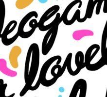 Hovergarden - Lovely Videogames for Lovely People Sticker