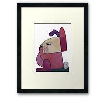 Bored Bunny Part II Framed Print