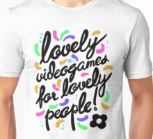 Hovergarden - Lovely Videogames for Lovely People Unisex T-Shirt