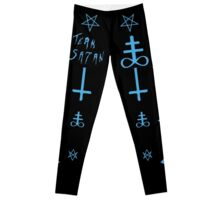 Team Satan (Blue) Leggings