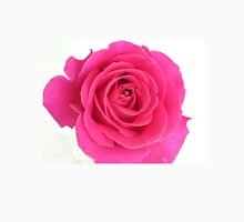 Vibrant Pink Rose Unisex T-Shirt