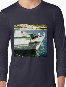 Kefalonian Boats Long Sleeve T-Shirt