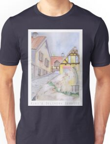 Kiki's Delivery Service Background Design Unisex T-Shirt