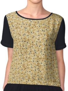 Very Doge Chiffon Top