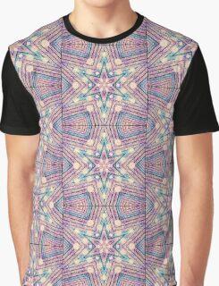 Metallic Pinks Star Graphic T-Shirt