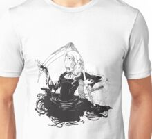 Black, white & black Unisex T-Shirt