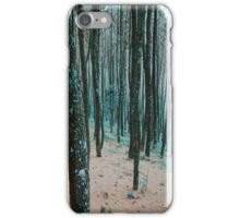 Morning Walk in a Forest iPhone Case/Skin