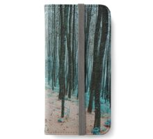 Morning Walk in a Forest iPhone Wallet/Case/Skin
