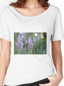 Lavender flower Women's Relaxed Fit T-Shirt