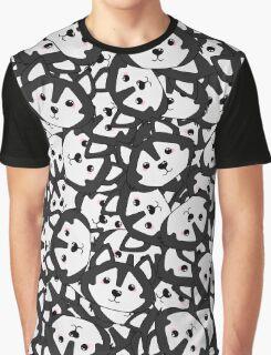 Mini Husky Graphic T-Shirt