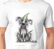 Fluffy the cute puppy Unisex T-Shirt
