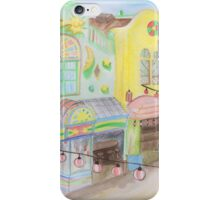Spirited Away Background Design iPhone Case/Skin
