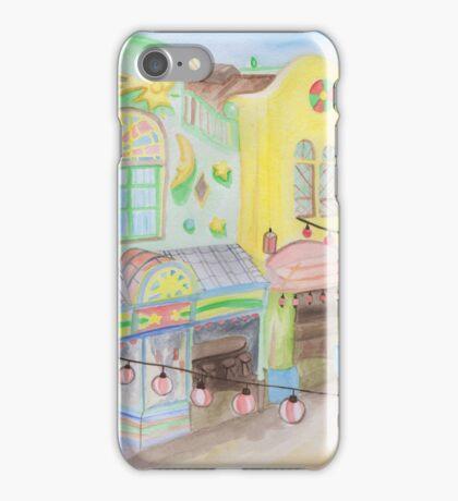 Spirited Away Background Design iPhone Case/Skin