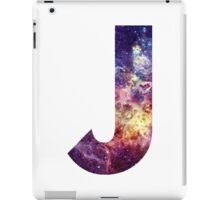 J nebula stars pattern  iPad Case/Skin